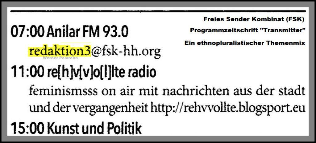 Radio Ethnoplural | Faschisten & Islamisten beim Hamburger Freien ...